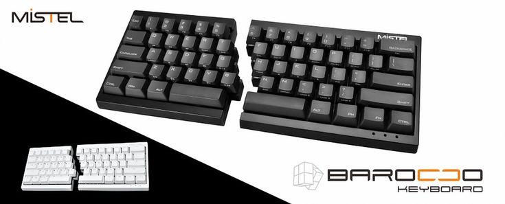 HHKBサイズの左右分離型キーボードが発表。Cherry MXスイッチ採用、右部のみでフルキー相当なマクロ機能も - Engadget Japanese