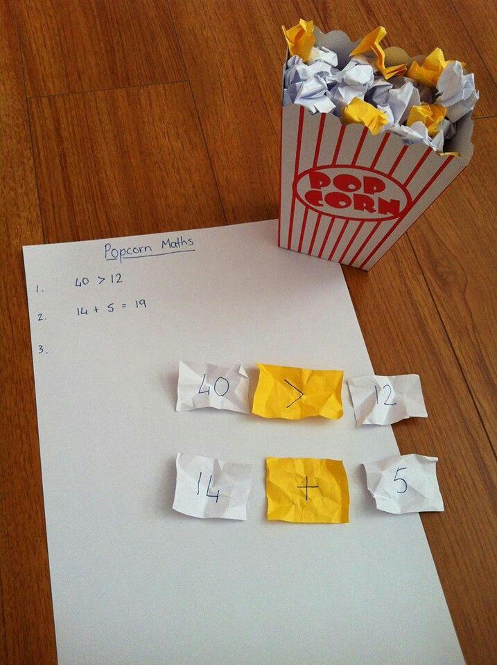 Popcorn maths