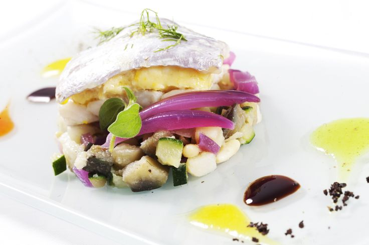 silver scabbardfish from Osteria La Pace Restaurant