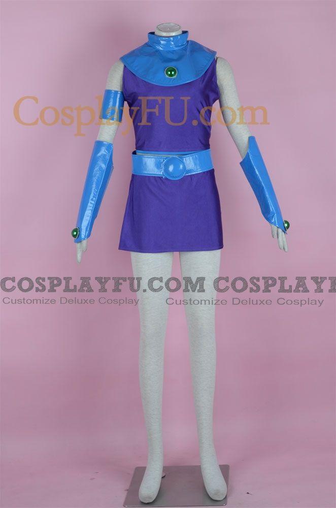 Personalizado Los Jóvenes Titanes Starfire (Teen Titans) Disfraz - Cosplay FU Ecuador