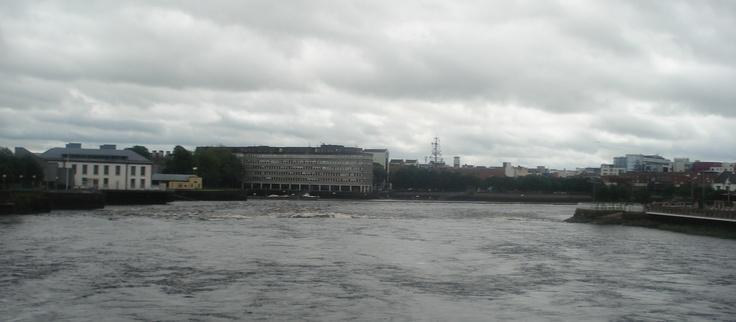 View from Thomond Bridge