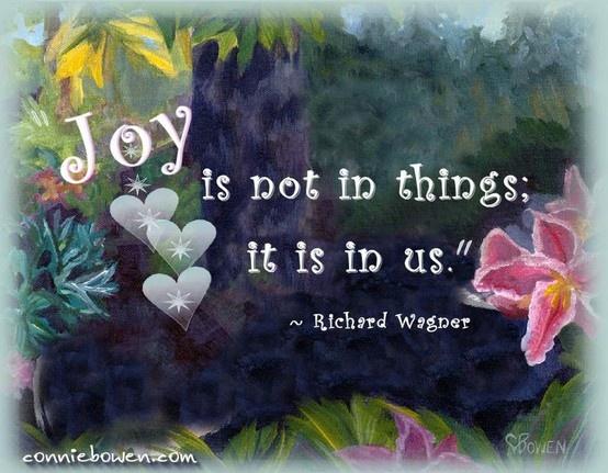 Joy !