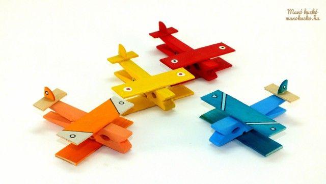 Csipeszből repülő - Manó kuckó