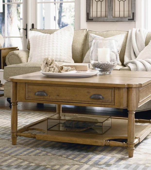 Paula Deen By Universal Down Home Visitin Table With Lift Top