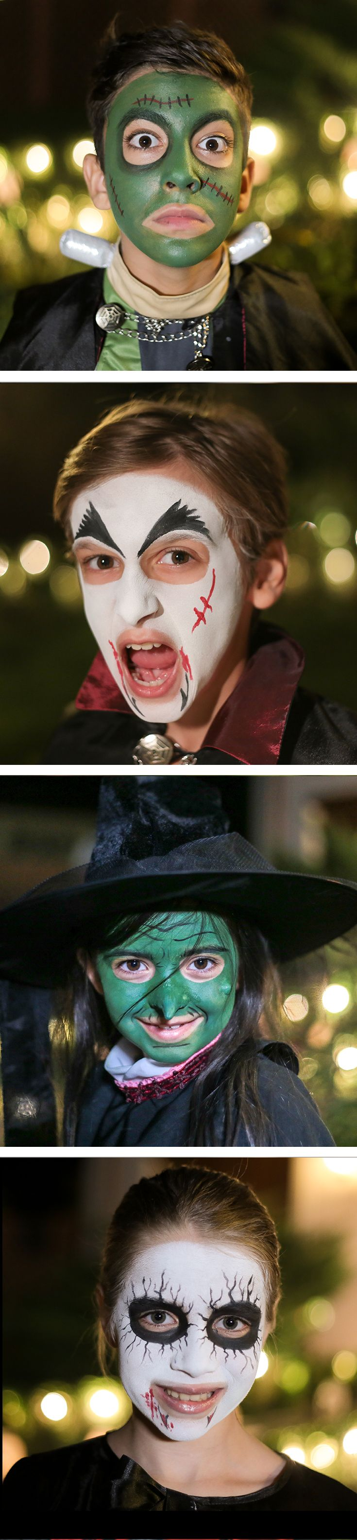 Haunted how-tos. Take a look at our Snazoween guides for eerie inspiration and freaky FacePaint step-by-steps