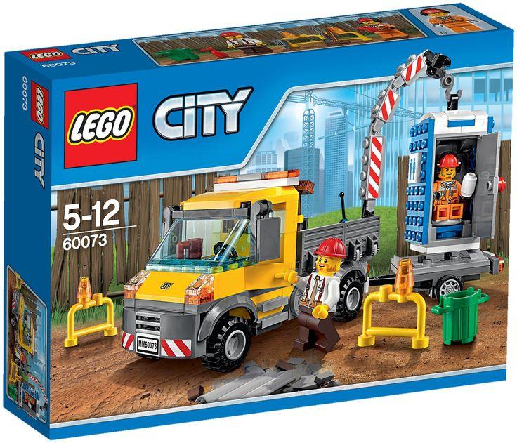 Comparez les prix du LEGO City 60073 Le camion grue avant de l'acheter ! Infos, description, images, vidéos et notices du LEGO 60073 Le camion grue sur Avenue de la brique