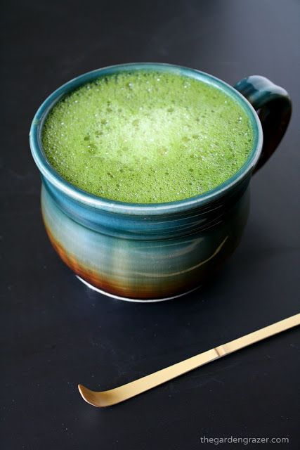 Dreamy, creamy vanilla soy matcha latte! My husband and I love this morning treat full of antioxidants and zenergy! Can sub almond or coconut milk as well (vegan, gluten-free)
