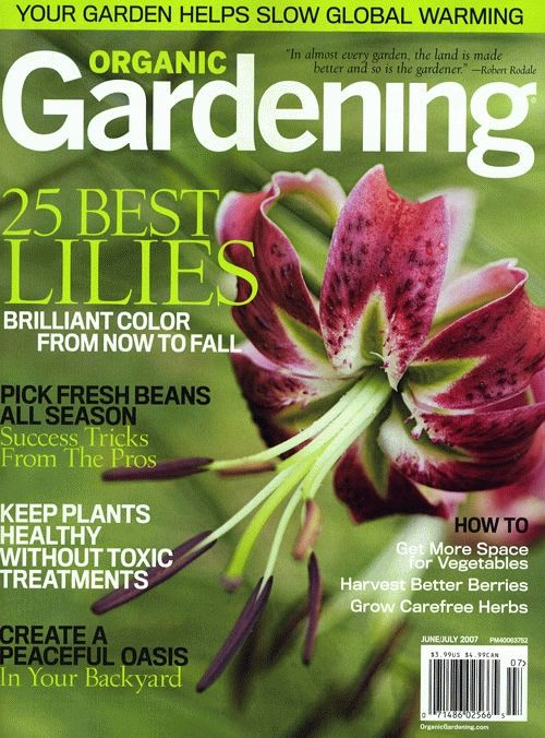 Free Organic Gardening magazine subscription from Annie's Homegrown-