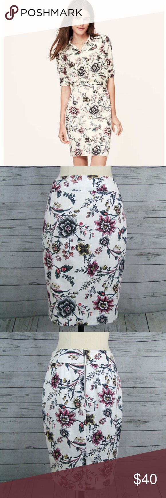 25 best ideas about floral pencil skirt on