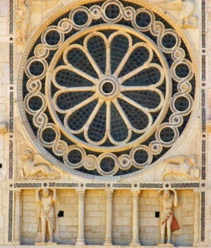 Rosone duomo di Spoleto