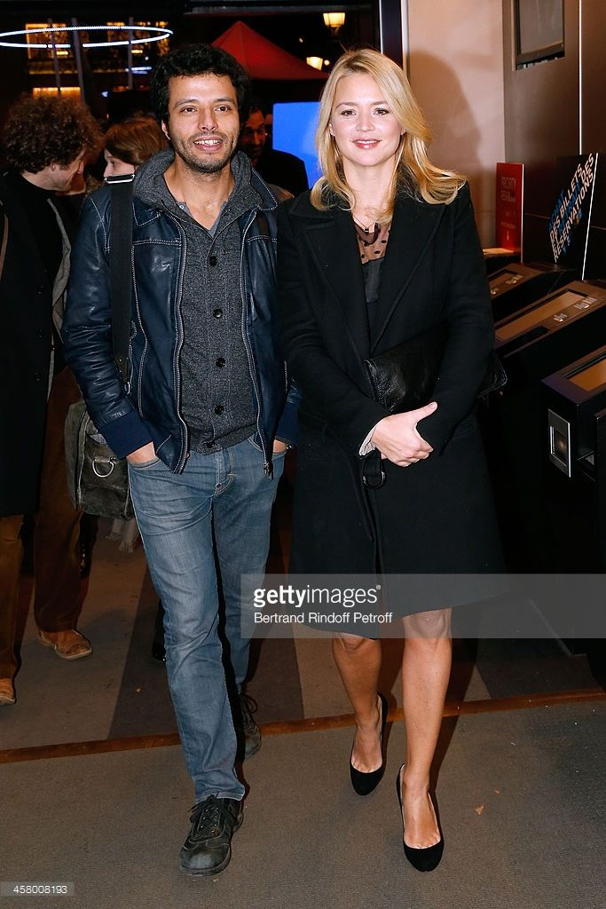 Photo d'actualité : Virginie Efira and her companion Mabrouk El...