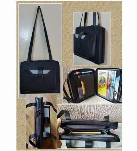 Black service bag