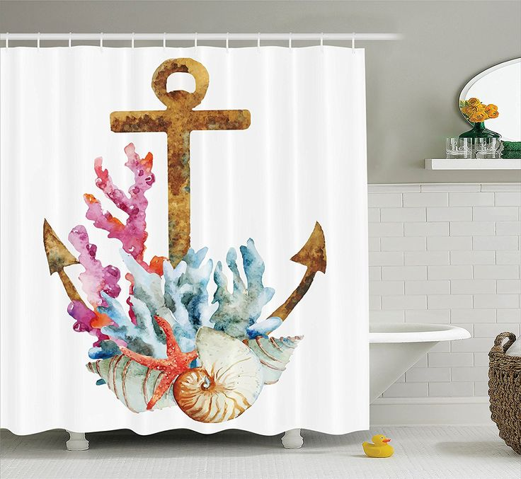 25 Best Ideas About Beach Bathrooms On Pinterest: Best 25+ Beach Shower Curtains Ideas On Pinterest