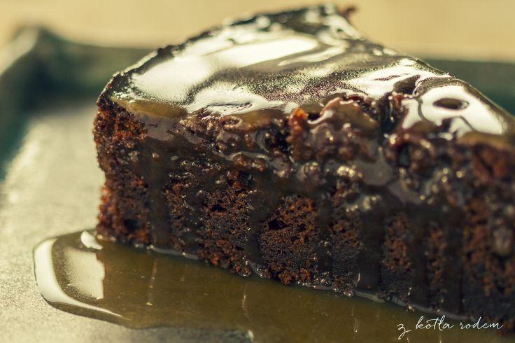"""Toffi pudding - jak o nim myślę to do głowy przychodzą mi dwa słowa """"grzech"""" i """"rozpusta""""! :-) #deser #toffi #grzech #rozpusta #pudding"""
