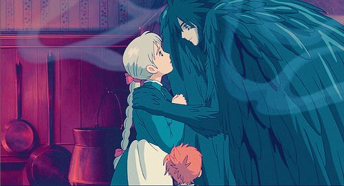 Howl's Moving Castle!!!!!!!! I LOVE this movie!!!!!!!