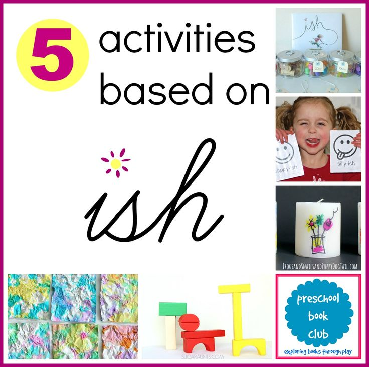 Children's Activities and Crafts Inspired by Ish by Peter Reynolds