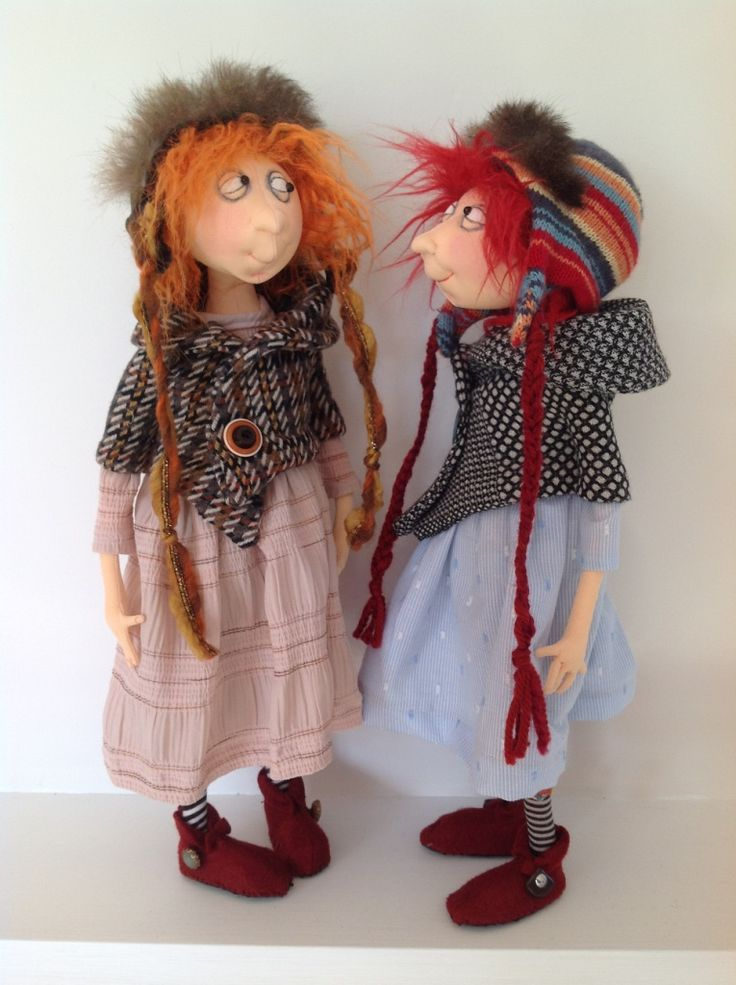 Art dolls by Jill and Gordon Maas  http://www.artdollstoday.com  Our own New Zealand talent :)  Just ordered this pattern. I can't wait to get it!