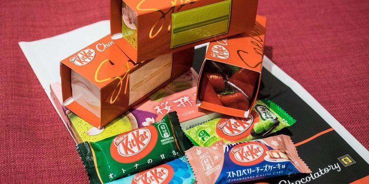Japón es el paraíso de los Kit Kat, con una variedad de sabores imposible de encontrar en otros países. ¿Los has probado?
