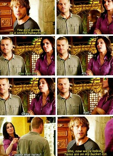 Densi honeymoon. this is confusing i don't know who is saying what