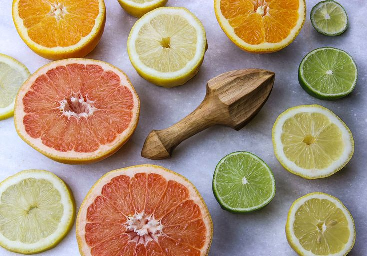 Extracting the goodness from the amazing citrus fruits with a lemon reamer/squeezer.