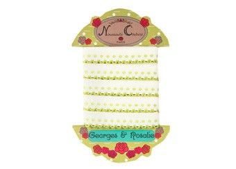 joli ruban ou galon brodé 2 mètres Georges & Rosalie | shop pour enfants Le Petit Zèbre