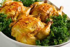 stuffed cornish game hens with sausage and apple - Robert Linton/E+/Getty Images