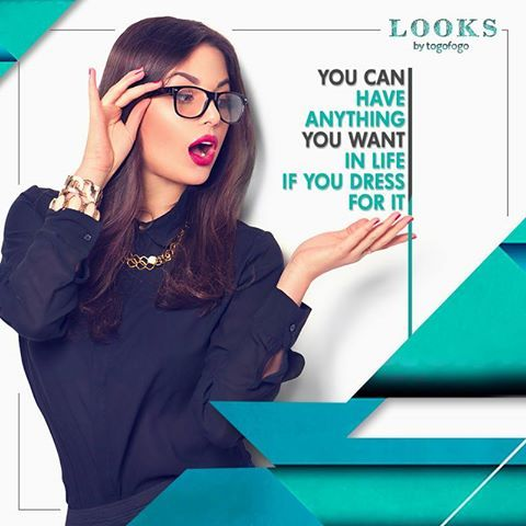 Work for it, dress for it and there's nothing you can't do! Visit us at: http://www.togofogolooks.com  #FashionFreak