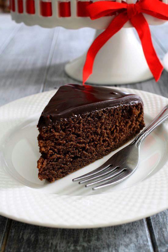 Eggless chocolate cake recipe | Chocolate cake with condensed milk