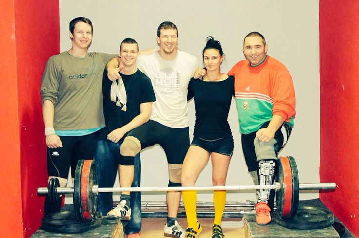 This was taken during our last training in 2014. I would like to say thank you to my coach #AkosNagy whose #weightlifting trainings are always great and I am do happy that I met this wonderful team of athletes, love you guys <3!  #OlympicWeightlifting #team #olimpiclifting #liftingislife #Budapest #FlexGym #FlexBase