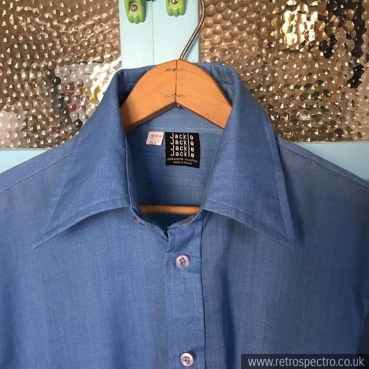 Dagger Collar Shirt Collar Shirts Shirts Vintage Outfits