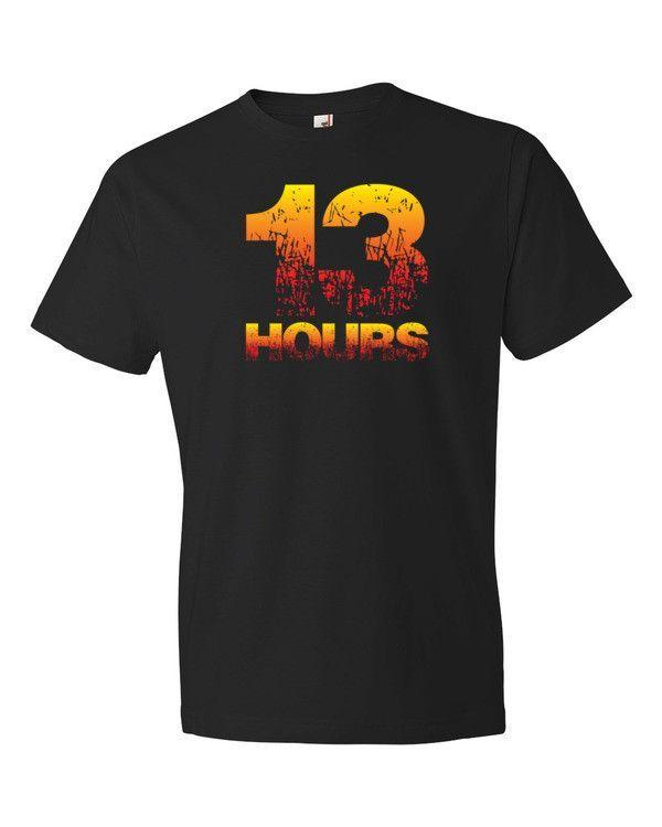 13 Hours Remember Benghazi Men's Short Sleeve Patriotic T-Shirt