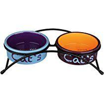 Trixie Eat On Feet Ceramic Bowl Set