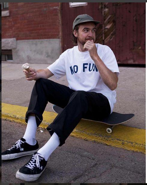Skateboard style fashion
