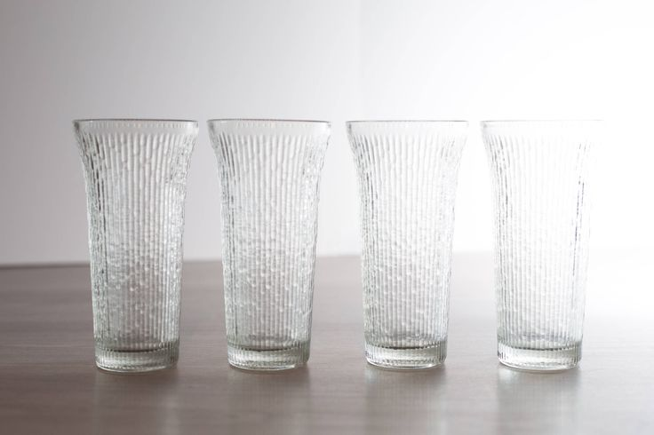 Vintage Icicle Glasses / Frosty Scandinavian Finnish Style Frosted Finland Cocktail Glasses / Mid Century Modern Ice Design Norwegian Glass by secondvoyagevintage on Etsy https://www.etsy.com/ca/listing/548614389/vintage-icicle-glasses-frosty
