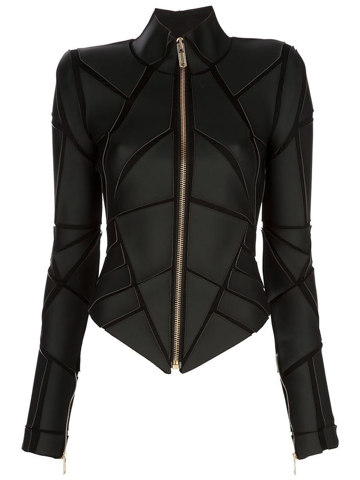 Gareth Pugh - Geometric Panelled Jacket