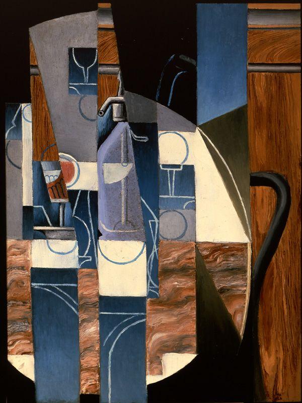 'The Siphon' (1913) by Juan Gris