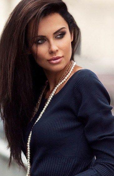 Terrific 1000 Images About Dark Brown Hair On Pinterest Short Hairstyles For Black Women Fulllsitofus