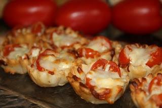 Tomato Tartlets   Appetizers Hot   Pinterest