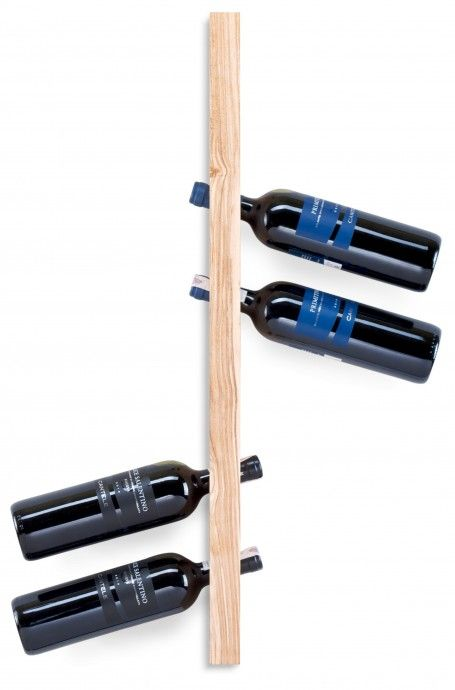 Wooden wine rack. Contains six bottles of wine. Made of one piece of ash wood.  for polish orders: www.tulas.pl https://www.etsy.com/listing/242996058/wooden-wine-rack-model-a-ash?ref=listing-shop-header-3