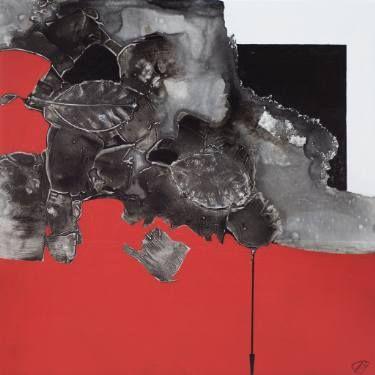 """Saatchi Art Artist Aljona Shapovalova; Painting, """"Unhurried flow"""" #art"""