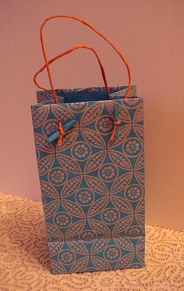Pas pas sachet en papier fabriquer papier carton pinterest sachets tags and search - Fabriquer un sac en papier magazine ...