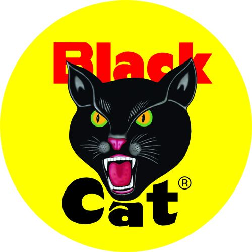 Black Cat Fireworks Logo