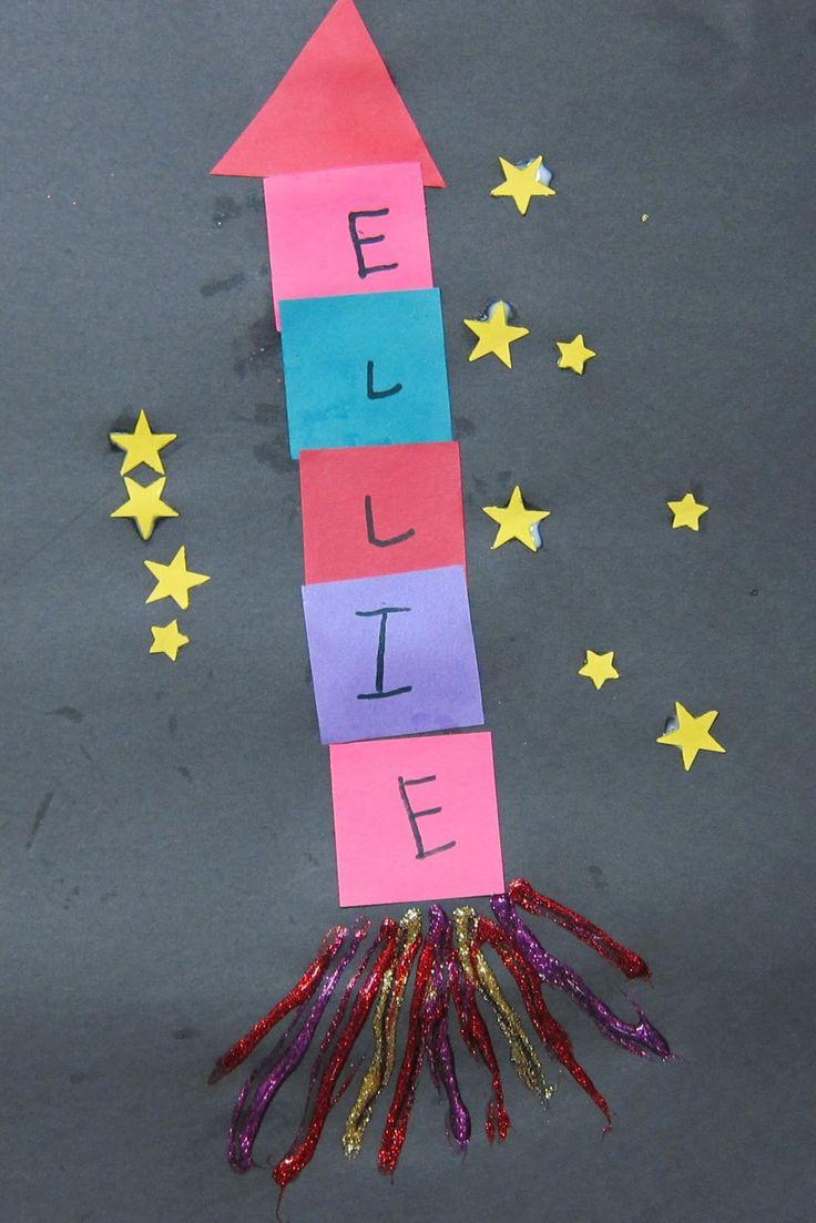 Mrs. Karen's Preschool Ideas: Let's Fly to the Moon (or Jupiter?)!