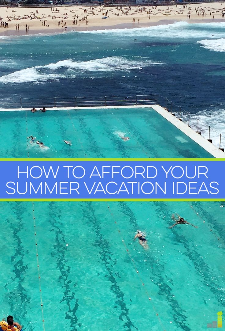 Want to go on a vacation this summer, but worried you can't afford it? Here are some tips on how you can keep costs down.