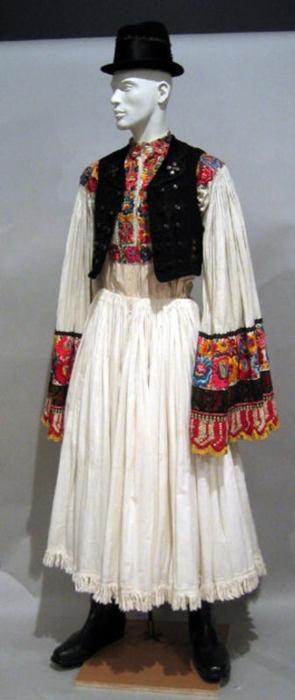 Hungarian ensemble via The Costume Institute of