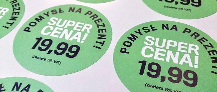 Nasza internetowa drukarnia naklejek od lat zajmuje się pełną obsługą w zakresie przygotowania do druku i produkcji etykiet. Aby poznać cennik druku naklejek wystarczy podesłać nam kilka niezbędnyc...