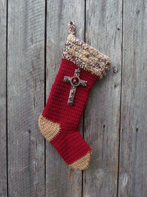 33 best Christmas Stockings images on Pinterest   Crochet ...