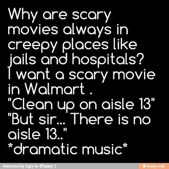 walmart, scary, story