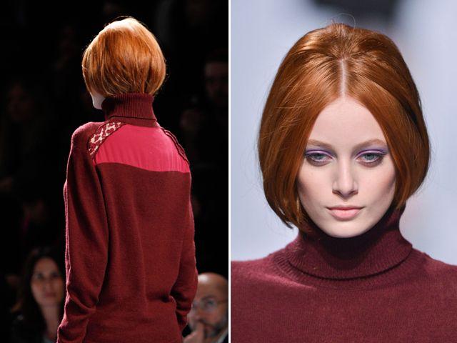 ninaricci- red heads and purple eyeshadow