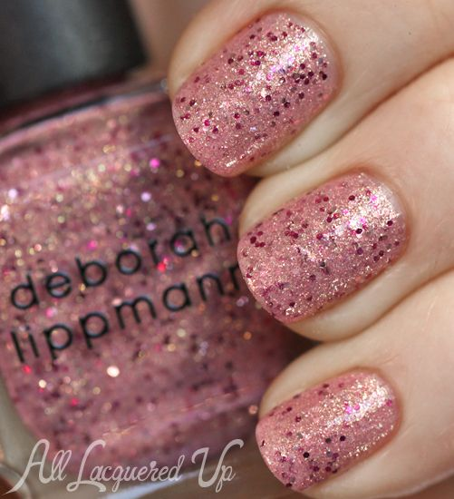 deborah lippmann mermaids kiss nail polish swatch Deborah Lippmann The Mermaids Summer 2013 Nail Polish Swatches & Review